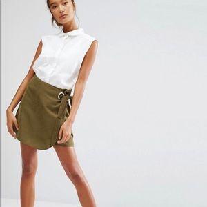Wrap mini skirt | ASOS